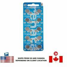 10 PCS Renata 344 Watch Batteries 0% MERCURY SR1136SW Swiss Made US Seller