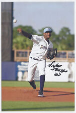 Victor Mateo Signed autographed 4x6 glossy photo rays Minor League