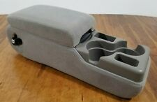 00 - 05 Chevy Impala Buick Century Bench Seat Center Console Armrest Medium Gray