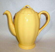 "1930 Grindley England Laburnum Petal Yellow 8"" Coffee Pot & Bowl"