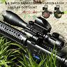 Rangefinder Rifle Scope Combo 4-16x50 Holographic Reflex Dot Sight Green Laser