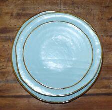 Posto tavola in ceramica colorata turchese creata a mano etnica