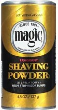 Magic Shaving Powder Formulated for Black Men * Gold * 4.5 oz