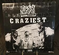 "NAUGHTY BY NATURE - ""CRAZIEST"" -12"" SINGLE, TOMMY BOY RECORDS # TB-670"