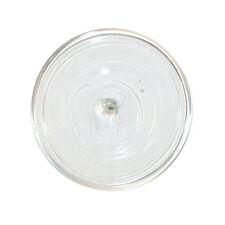 Glasbutzen 9cm weiss - mundgeblasene Butzenscheiben Deko Tiffany Glass Rondel B9