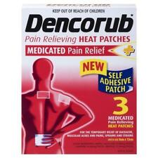 Dencorub Pain Relieving Heat Patches - 3 Patches