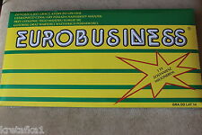 EUROBUSINESS EUROBIZNES towarzyska gra planszowa Polish (monopol monopoly)