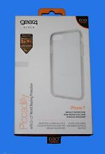 100% Original Gear 4 Negro D3O Piccadilly protectivecase IC7083D3 Plata iPhone 7