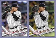 2017 Topps Dellin Betances Yankees  Lot of 2 card in Near Mint Condition