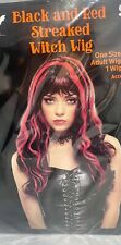 Lolita Harajuku Wigs Black Red Mix 19in Princess Party Wig Cosplay Costume