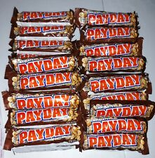 NEW - PayDay CHOCOLATEY 34 Ct Candy  Bars  FREE SHIPPING - Brand New!