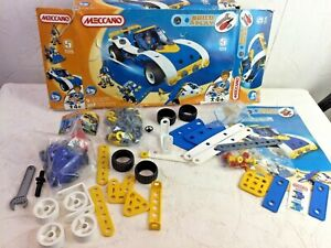 Meccano Build & Play 5 Toys New and Complete DAMAGED BOX Blue Car Y168