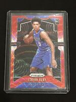 Isaiah Roby 19-2020 Panini Prizm Ruby Red Wave #283 Mavs Rookie RC Pack Fresh