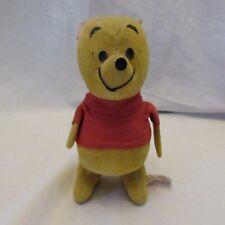 Vintage Sears Roebuck & Co Wood Chip Filled Velvet Winnie the Pooh Disney Japan