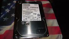 """Toshiba 1000GB 1TB Internal SATA 7200RPM 3.5"""" Desktop Hard Disk Drive HDD"""
