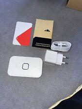 Vodafone R218h Mobile WiFi Router 4G LTE Mobile Hotspot - weiß, wie neu!