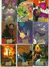 2008 Upper Deck Marvel Masterpieces 3 base set of 90 cards + bonus wrapper