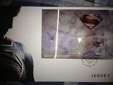 El Hombre De Acero Superman Película Lenticular Jersey sello primer día cubierta