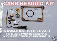 CARBURETOR CARB REBUILD KIT MAIN PILOT JET GASKET IDLE NEEDLE MIKUNI VM24 SS