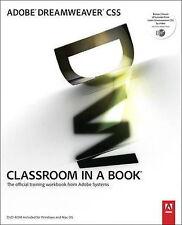 Adobe Dreamweaver CS5 Classroom in a Book (Classroom in a Book (Adobe)), Good Co