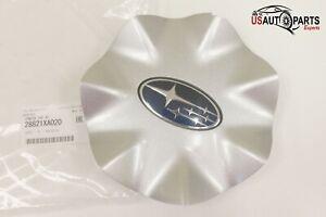 Genuine Subaru - Silver Wheel Hub Cover Center Cap - Tribeca 2006-2014 NEW OEM