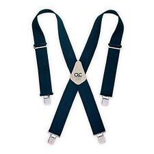 Clc 2 Wide Heavy Duty Blue Work Suspenders 110blu