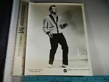 Rare Original Vtg Gary Stites Carlton Record Corp Murray Korman Gac Music Photo