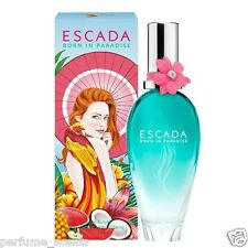 ESCADA BORN IN PARADISE 3.3 oz / 3.4 oz (100 ml) EDT Perfume Spray Women SEALED