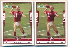ALEX SMITH LOT OF (2) 2005 SCORE #331 RC ROOKIE CARD 49ERS CHIEFS MINT C2