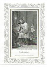 Image Pieuse Canivet S. Aloysius (Saint Louis de Gonzague)