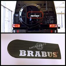 W463 G Class BRABUS Style Decal BRABUS For Spare Tire Cover