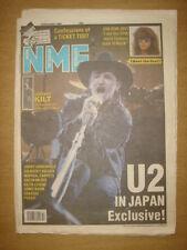 NME 1989 DEC 16 U2 JON BON JOVI ERASURE SONIC BOOM KILT