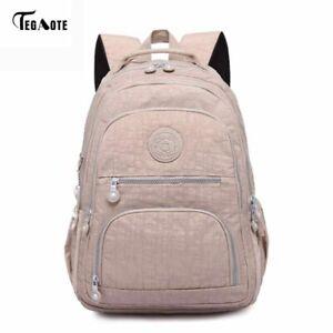 School Backpack Teenage Girl Women Laptop Backpacks Nylon Waterproof Bag Pack