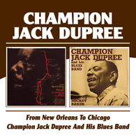 Champion Jack Dupree - From New Orleans To Chicago/And His Blues Band (2CD)  NEW