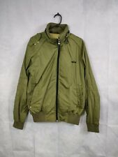Men's Jacket Zip Up green alpha industries size m us military