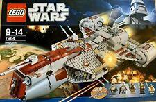 Rare Lego Star Wars Republic Frigate 7964 with  instructions star ship clone