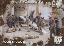 Walking Dead Season 5 Mud Parallel Base Card #95 FOOD TRUCK TRAPS