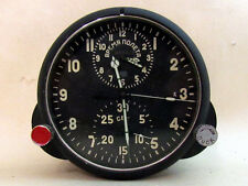 AChS MILITARY Aviation COCKPIT CLOCK with BOX USSR Russian
