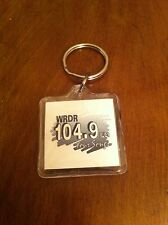 vintage promo keychain for the radio station WRDR 104.9 FM Your Songs Collector