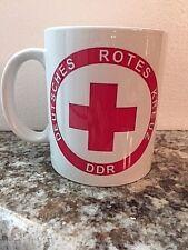 """EAST GERMAN (DDR) """"Deutsches Rotes Kreuz"""" (German Red Cross) Coffee / Tea Mug"""