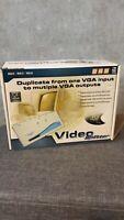 248-Port Video Splitter VSA14 1-VGA-to-4-Monitor VGA SVGA Multisync Brand-new