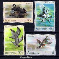 1991 - Australia - Australian Waterbirds - set of 4 - MNH