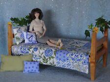 "AllforDoll DIORAMA Furniture Set BED for 16"" Dolls - Tonner Kish Gene BJD Ficon"
