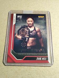 ZHANG WEILI - Panini Instant UFC Card 1 - PRINT RUN: 849