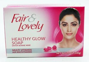 3x Fair & Lovely Healthy Glow Soap With Multi Vitamins 100g Bars