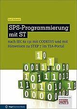 SPS-Programmierung mit ST: nach IEC 6113 mit CoDeSys und...   Buch   Zustand gut
