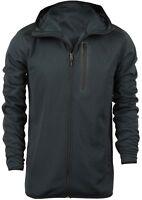 Quiksilver Pioneer Zip Up Fleece (Black)