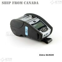 Zebra QLN220 Thermal Label Mobile Printer Bluetooth Wifi QN2-AUNA0M00-00