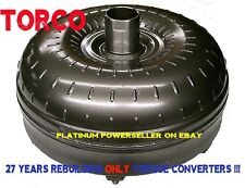 Ford E4OD 4R100 Triple Clutch BILLET COVER - 6 Studs Extra Low Torque Converter