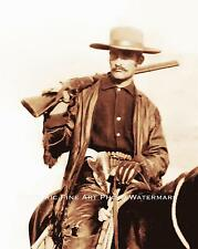 OLD WEST OUTLAW VINTAGE PHOTO ARMED DEADLY 1886 8x10 #21900